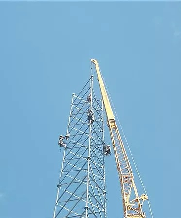 Tower Erection 1
